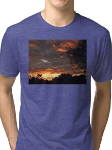 Dark Sunrise 2 Tri-blend T-Shirt