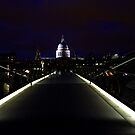 St.Paul's from the Millennium Bridge by rsangsterkelly