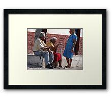 Neighborhood - Vecindad Framed Print