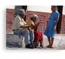 Neighborhood - Vecindad Canvas Print