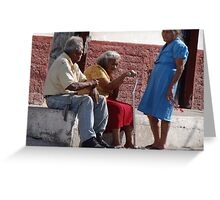 Neighborhood - Vecindad Greeting Card