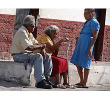 Neighborhood - Vecindad Photographic Print