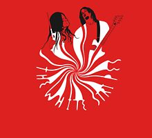 Candy Cane Children (on red) T-Shirt