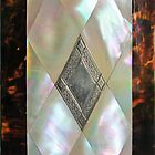 mother of pearl iphone case by jashumbert