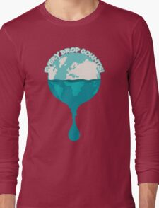 H2O *every drop counts Long Sleeve T-Shirt