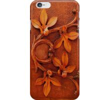 carved wood leaves iphone iPhone Case/Skin
