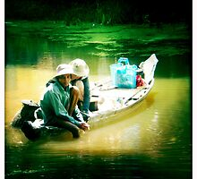 not trout fishing by Alexis Santi