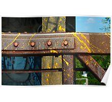 Pedestrian Bridge Detail Poster