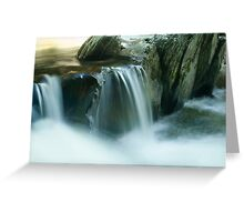 Double Spill Greeting Card