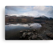 Helvellyn over Thirlmere Canvas Print