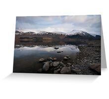 Helvellyn over Thirlmere Greeting Card