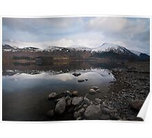 Helvellyn over Thirlmere Poster