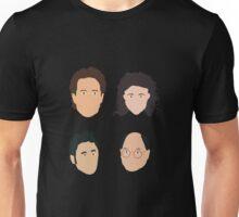 Jerry, Elaine, Kramer, George Unisex T-Shirt