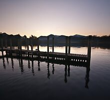 Keswick Landing Stages by mattcattell
