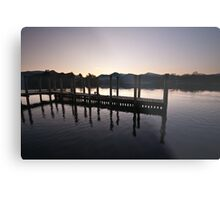 Keswick Landing Stages Metal Print