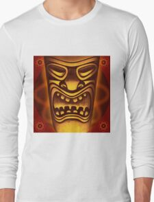 Atomic Tiki Logo Long Sleeve T-Shirt