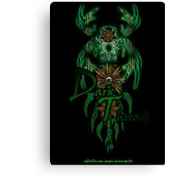 Green-Catcher Soul Play Canvas Print