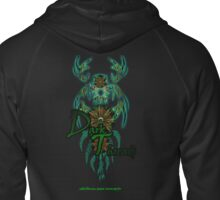 Green-Catcher Soul Play Zipped Hoodie