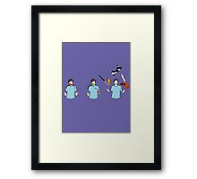 Learn to juggle Framed Print