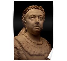 Queen Victoria - A Bust Poster