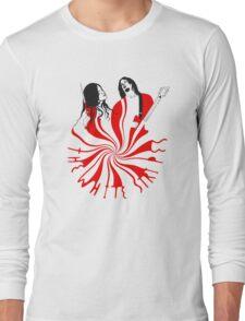 Candy Cane Children Long Sleeve T-Shirt
