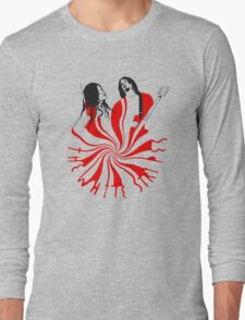 Candy Cane Children Long Sleeve T-Shirt