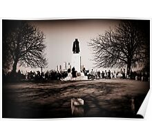 Greenwich Park - James Wolfe Statue Poster