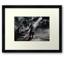 Halloween 2015 - Captain Hook Framed Print