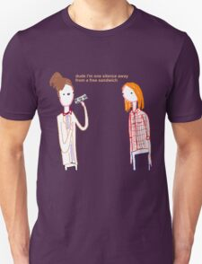 Silent Sandwich Unisex T-Shirt