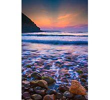 Rocks in sea Photographic Print
