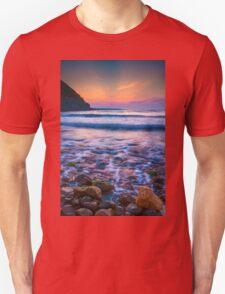 Rocks in sea Unisex T-Shirt