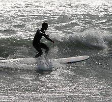 Departure of the Silver Surfer by Peter Kurdulija