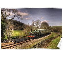 Pannier Tank on the Dart Valley Poster