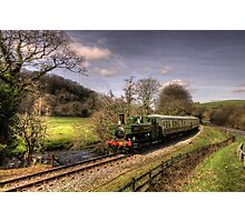 Pannier Tank on the Dart Valley Photographic Print