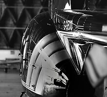 MD500 Helicopter in Hangar by phseven