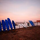 Saltburn, surfboards & sunset by PaulBradley