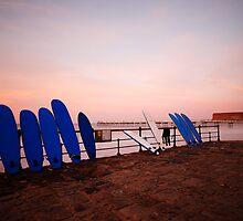 Saltburn, surfboards & sunset by PaulBradley