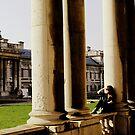 Greenwich University - Pillars by rsangsterkelly