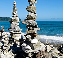 stone stack by Anne Scantlebury