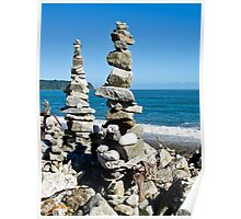 stone stack Poster
