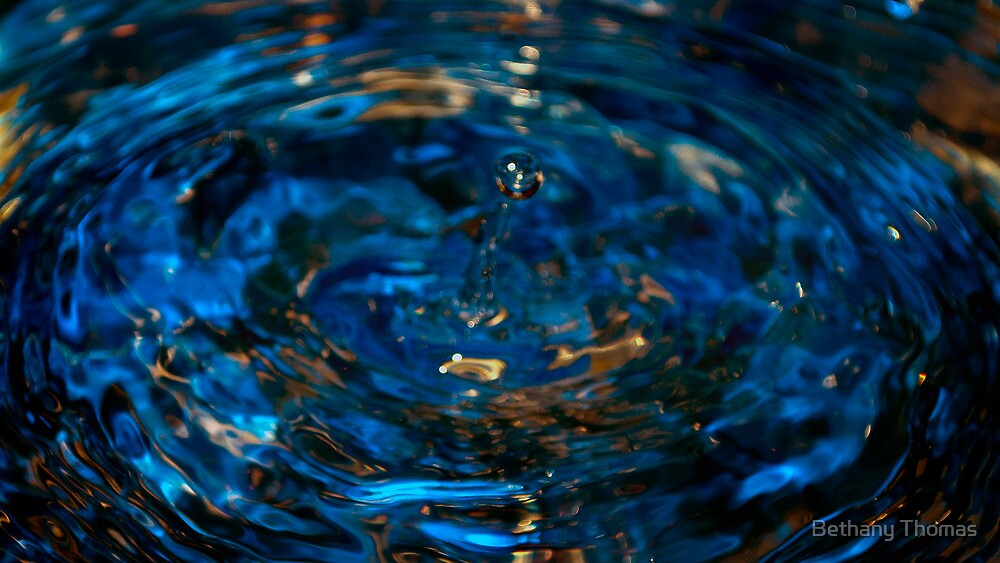 Water drop by Bethany Thomas