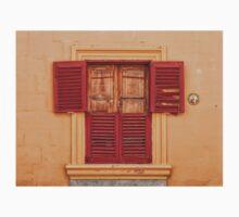 Red Old Window Kids Tee