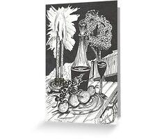 Midnight Toast Greeting Card