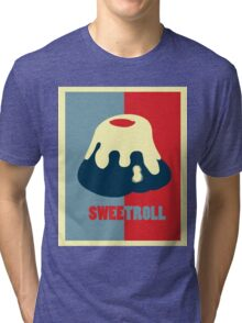 Believe In The Sweetroll Tri-blend T-Shirt
