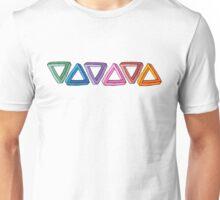 Trippy Triangles Unisex T-Shirt