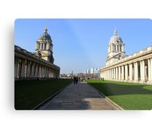 Greenwich University - Naval College  Metal Print