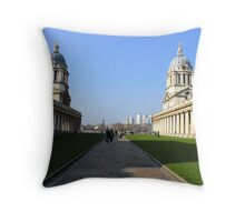Greenwich University - Naval College  Throw Pillow
