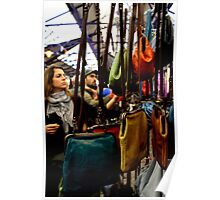 Greenwich Market - Handbags Poster
