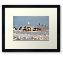 And Their Off Framed Print