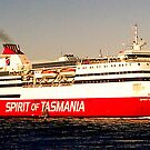Spirit of Tasmania by Tania Russell